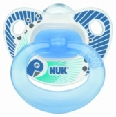 NUK Silicone Pacifier - 1 piece - Happy Days/BLUE -20% Off