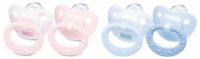 NUK Silicone Pacifier Rose&Blue Edition- Less 20% Off