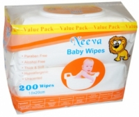 Neeva-200s Wipes Unscented Value Pack